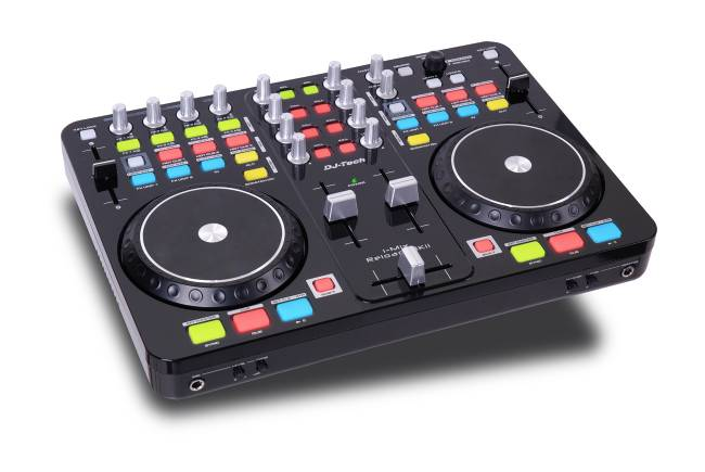 DJ Tech USB/Midi DJ Ctr. Deckadance Touch Sensitive Jog Wheel adj.,SC