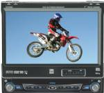 "Dual XDVD8181 DVD Receiver w/Motorized 7"" LCD Touch Screen"